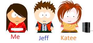 My Southpark gang by Trissacar