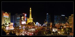 Las Vegas Strip by DarthIndy