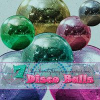 7 Disco Balls Png by loveelydesigns