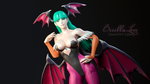 Morrigan Aensland Darsktalkers Pose by BriellaLove
