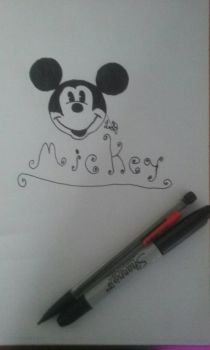 Mickey Mouse by turtleopp