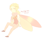 rosy maple moth prince by mr-puffpuff
