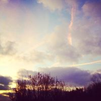320 The sky this evening by DistortedSmile