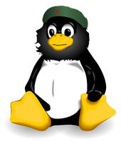 Che-Tux: Linux + Communism SVG by yashton