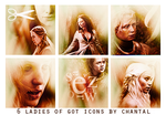 Game of Thrones Icons by ChantiiGG