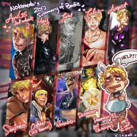 2012 summary of Bodie by Nokomento