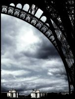 tour eiffel. by mont-martre