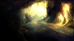 Cave by Lamphy