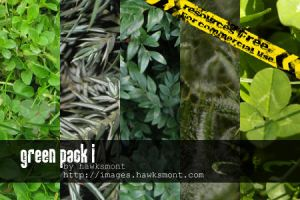 Green Pack I by hawksmont