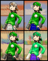 Luigi Color Test by Hologramzx