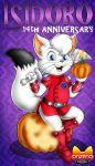 October 31st - The anniversary of the white cat by Onzeno