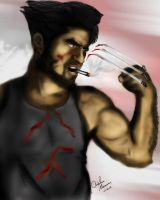 Wolverine - Suicide by King-Arsalan-Monawar