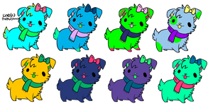 Cheap and Free Puppy Adopts CLOSED by xPopFloss