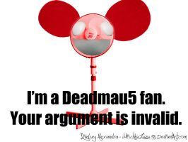 Deadmau5 fan by Junkie-Ampora