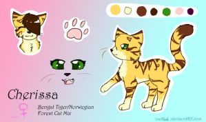 Cherissa Reference Sheet by PurryProductions-Inc