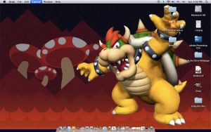 Bowser Desktop for my macbook by Bowser2Queen