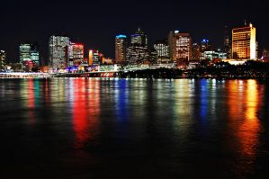 Brisbane City Lights by game-breaker