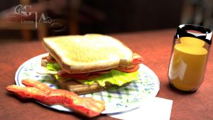 BLT by VickiBeWicked