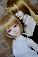 Blonde Perfection II by AidaOtaku-BJD