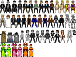 Doctor Who Micros by Digclaw