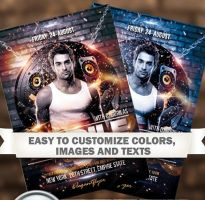 Special Guest  Free Flyer PSD Template by freebiespsd