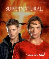 SPN-Cracked Wall Poster by macfran