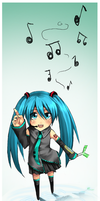 Music stands for Life-Vocaloid by Nakubi