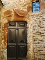 CONQUES CASTLE'S MAIN DOOR by isabelle13280