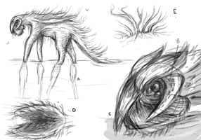 the Collosal: Creature summary   -Planet svit by Sneiks