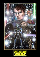 Star Wars : The Clone Wars by MisunderstoodTim