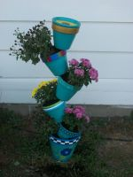 Tilting Pots by QueenAliceOfAwesome