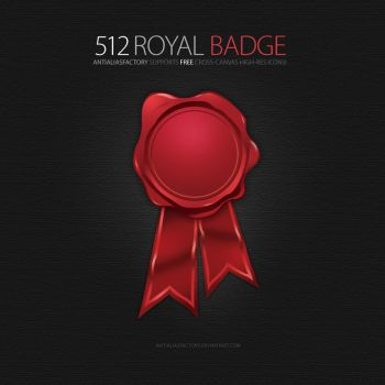 Royal Badge Icon by antialiasfactory