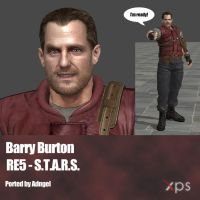 Barry Burton RE5 STARS by Adngel