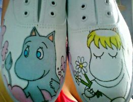 Moomin Shoes by Gratian-Grime