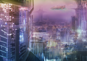 Tope District - First cityscape try! by Maxxie-Delu
