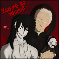 Crack Pairings: Jeff The Killer x Jigsaw XD by Sapphiresenthiss