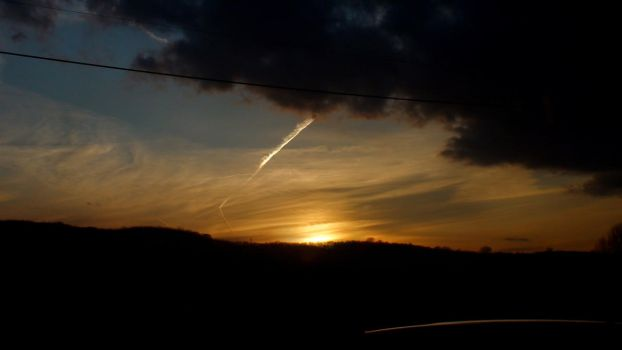 2010-03-01 - Golden Sunset by Only-truth