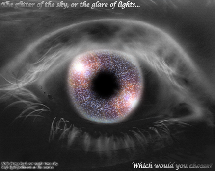 Starry Sky Through Starry Eyes by builderofworlds