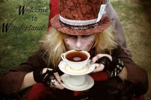 No Mad Hatter Drinks Tea the Normal Way by CLeigh-Cosplay