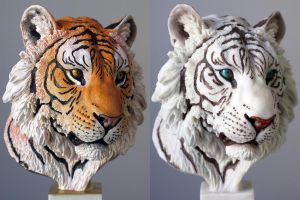 Tiger in Resin by IgorGosling