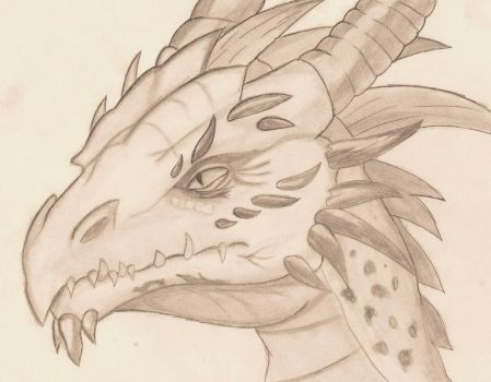 Dragon head by Smile-mask