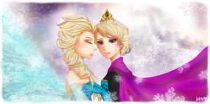 [ Frozen ] Elsa by winnsita