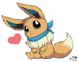 Aren't eevees adorable? by pichu90