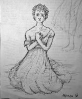 Fantine (sketch) by HeeLash