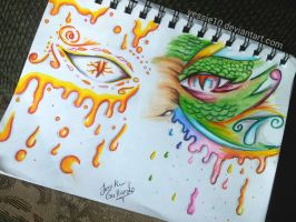 monsters eyes by yessie10