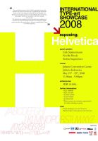 Helvtica Poster by kn33cow