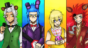 Cross-Over - FNAF+KH by StarTheYoshi