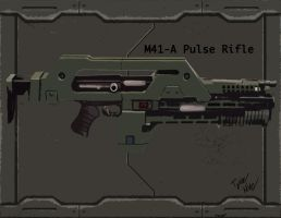 M41-A Pulse Rifle by DonutTk421