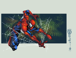 :SpiderFreaksWebsOver-Colors: by IvyBeth