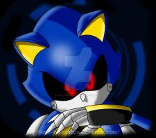Metal Sonic by Kath-the-shadow
